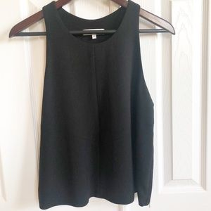 IRO Cherie Black Tank Side Zip Size 40